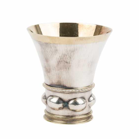 BOSSARD silver Cup, Switzerland, 20. Century. - photo 4