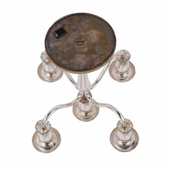 ENGLISH silver chandelier, 20. Century. - photo 5