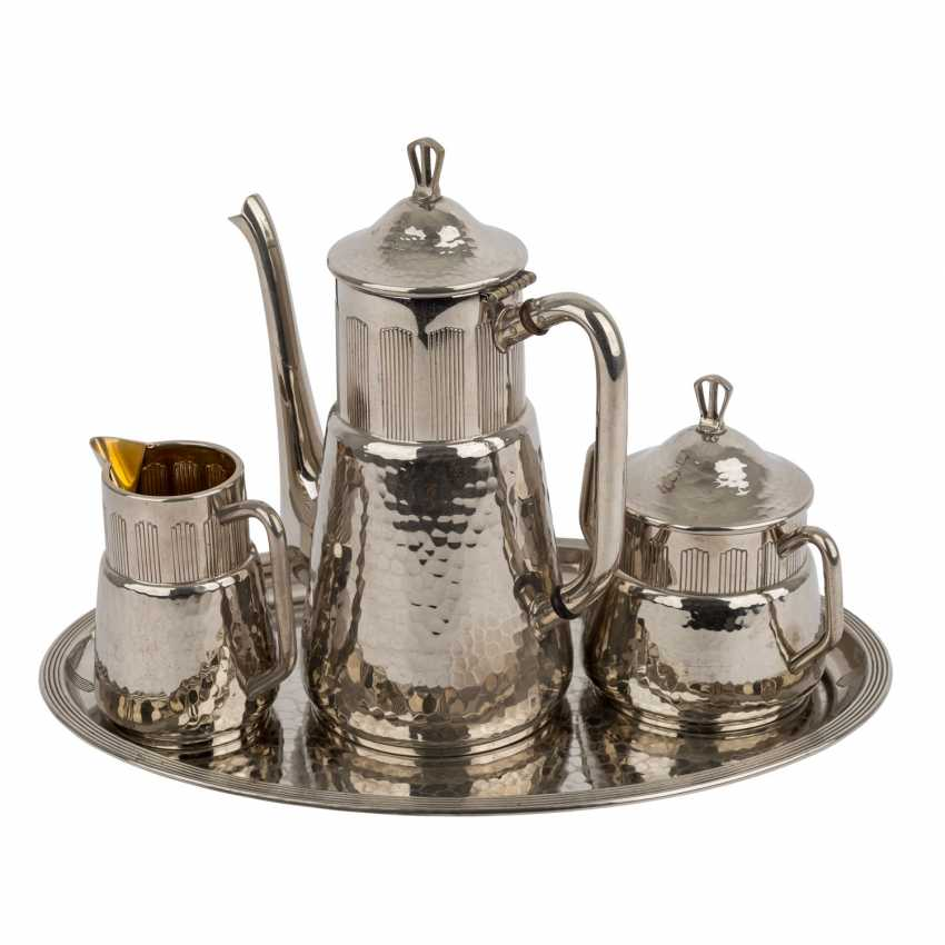 WMF coffee core in the Art Deco style, silver plated, 20. Century. - photo 1