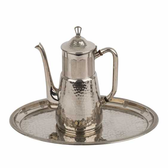 WMF coffee core in the Art Deco style, silver plated, 20. Century. - photo 2