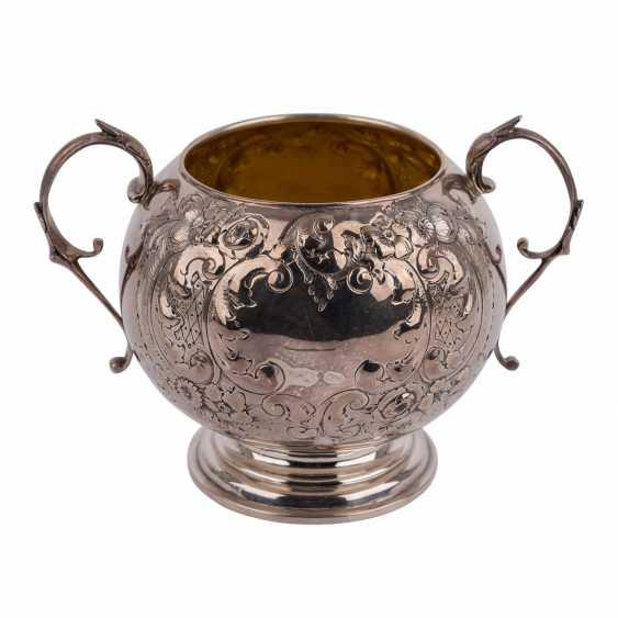 BIRMINGHAM silver-plated vessel, 19. Century. - photo 1