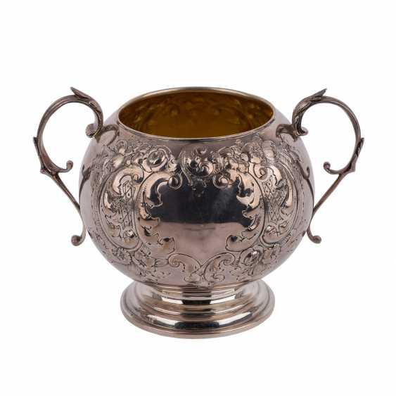 BIRMINGHAM silver-plated vessel, 19. Century. - photo 3