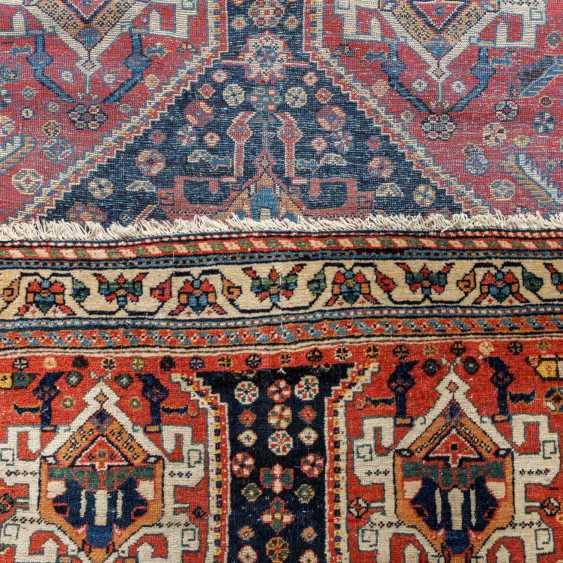 Orient carpet. GASHGAI/PERSIA, around 1900, approx. 492x111 cm. - photo 3