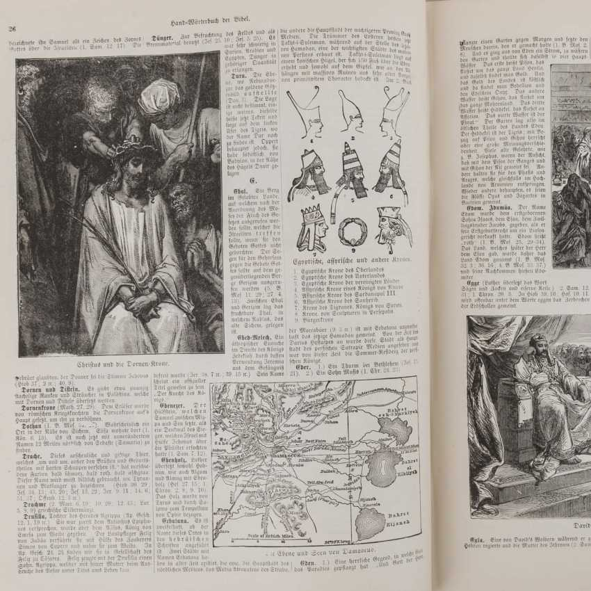THE NEW ILLUSTRATED HOLY SCRIPTURE, FOR DOMESTIC EDIFICATION AND INSTRUCTION OF THE OLD AND NEW TESTAMENT, 19TH CENTURY./20. Century - photo 2