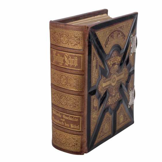 THE NEW ILLUSTRATED HOLY SCRIPTURE, FOR DOMESTIC EDIFICATION AND INSTRUCTION OF THE OLD AND NEW TESTAMENT, 19TH CENTURY./20. Century - photo 3