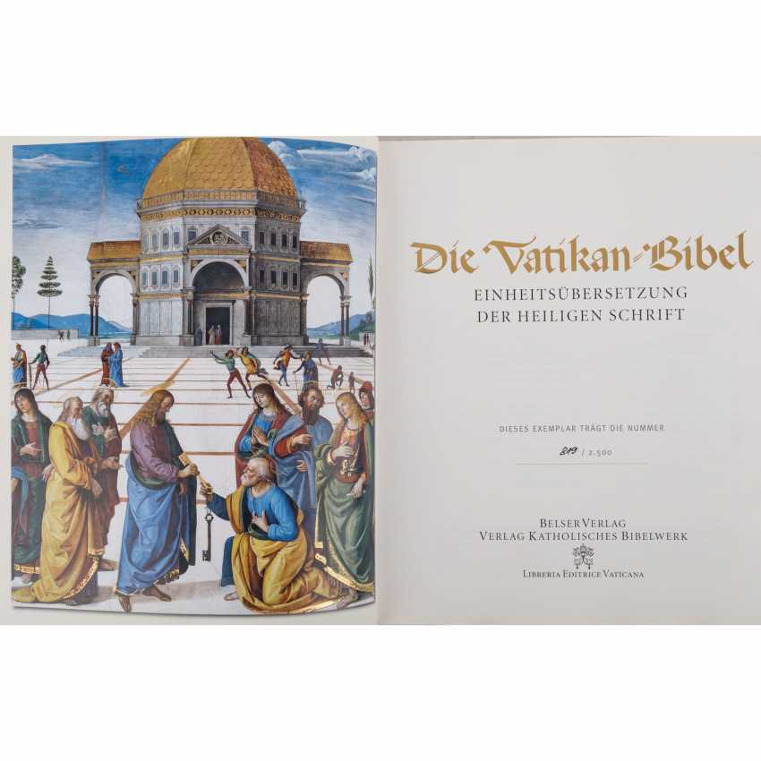 THE VATICAN BIBLE - photo 1