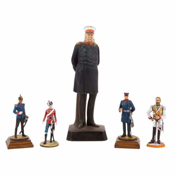 1870/71 - 5 statesmen and soldiers, Wilhelm I. - photo 1