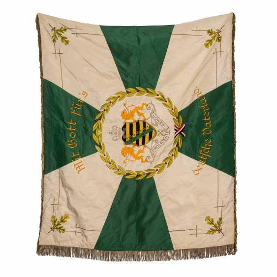 War Club Flag Res. Inf. Regt. 104 Chapter Annaberg-Buchholz, - photo 1