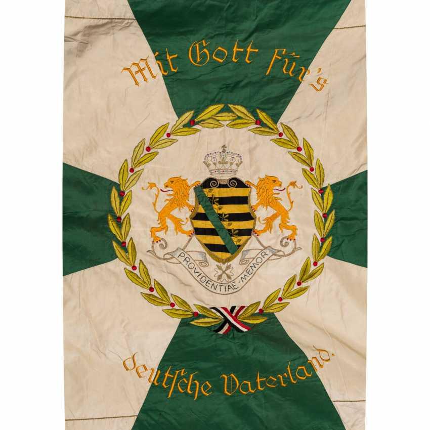 War Club Flag Res. Inf. Regt. 104 Chapter Annaberg-Buchholz, - photo 3