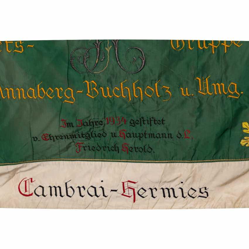 War Club Flag Res. Inf. Regt. 104 Chapter Annaberg-Buchholz, - photo 4