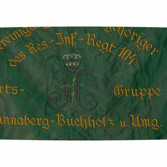 War Club Flag Res. Inf. Regt. 104 Chapter Annaberg-Buchholz, - photo 5