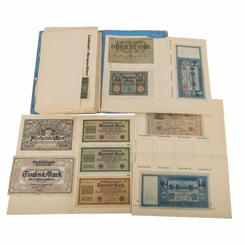 Collection of historical Bank notes - photo 1