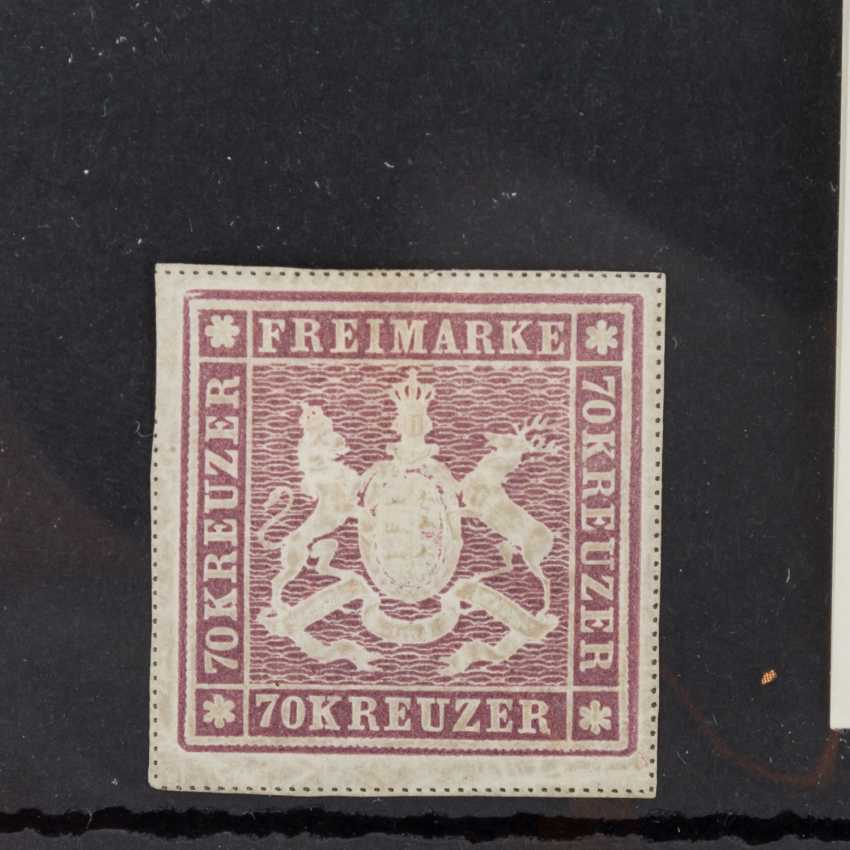 Old edition of 1873, rare 70 cruisers,Württemberg - - photo 2