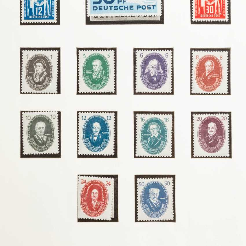 DDR - collection of a 3-form albums in post office fresh preserving 1949 to - photo 2