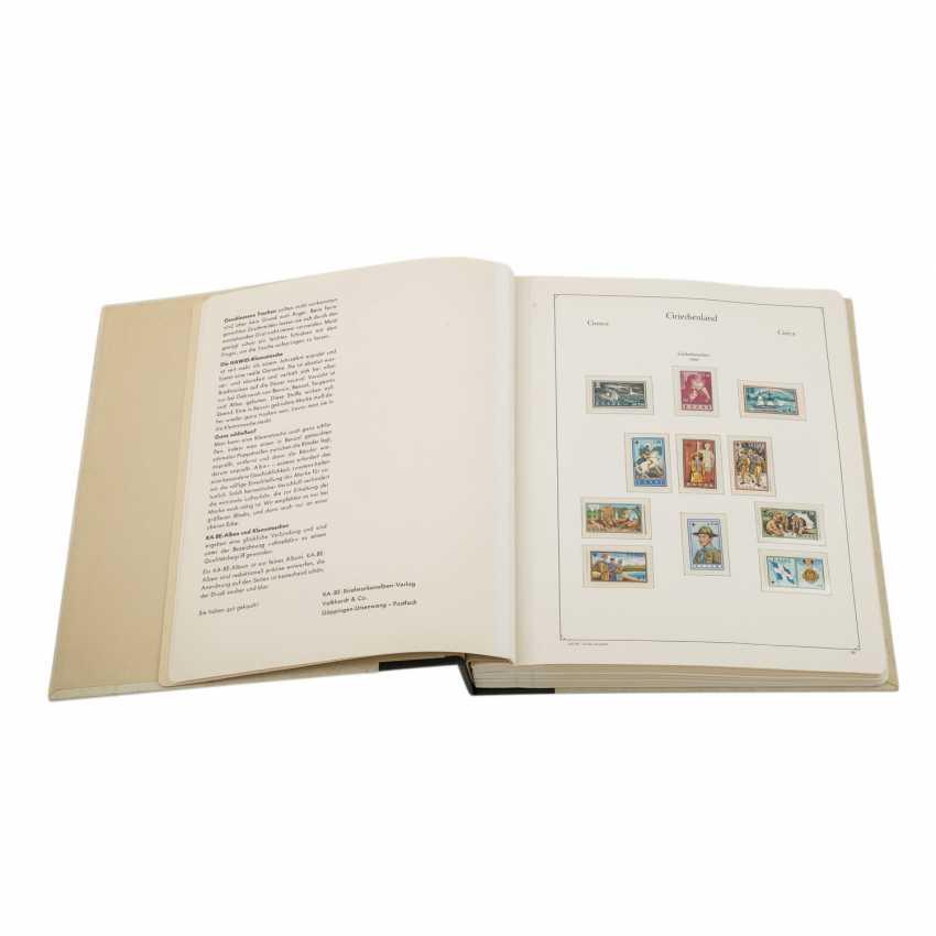 Griechenland - Postfrische Sammlung im Kabeklemmbinder - Foto 1