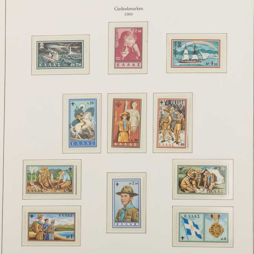 Griechenland - Postfrische Sammlung im Kabeklemmbinder - Foto 2