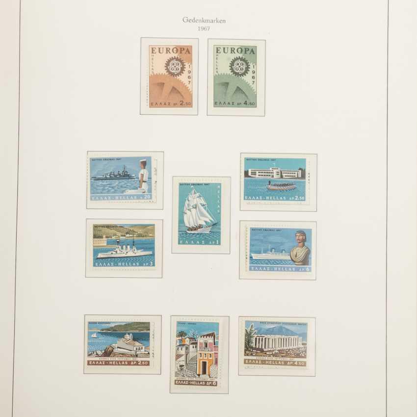 Griechenland - Postfrische Sammlung im Kabeklemmbinder - Foto 4