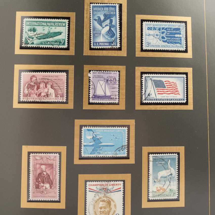 USA 1857 / CA. 1988 - part collections of stamped and - photo 4