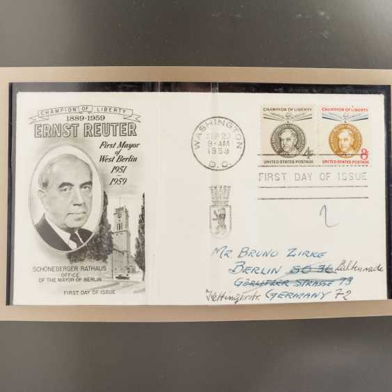 USA 1857 / CA. 1988 - part collections of stamped and - photo 5