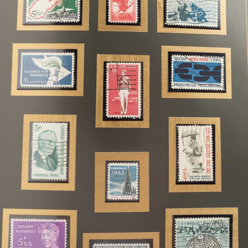 USA 1857 / CA. 1988 - part collections of stamped and - photo 6