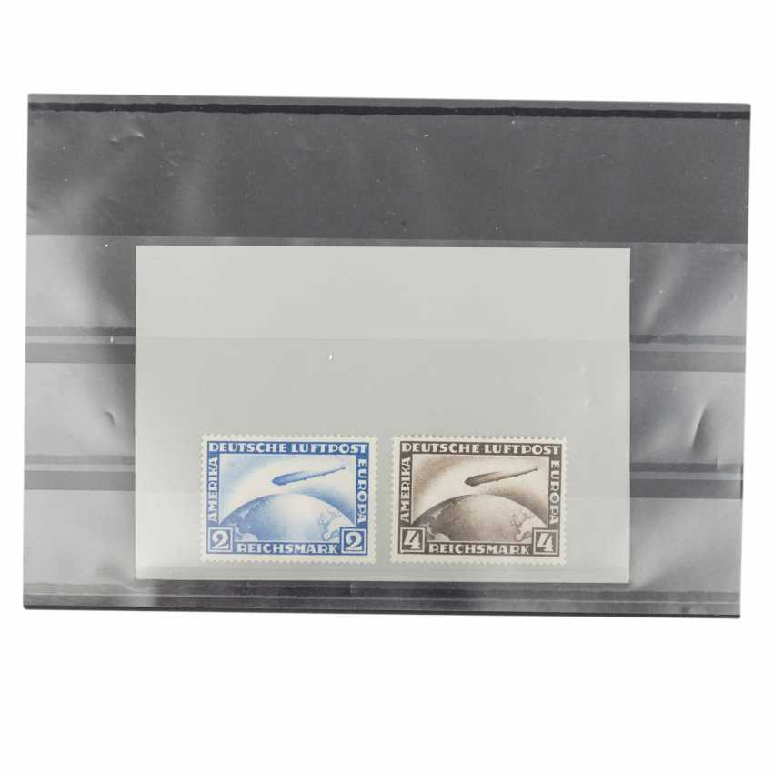 German Reich 1928 - airmail stamps in post office fresh - photo 1