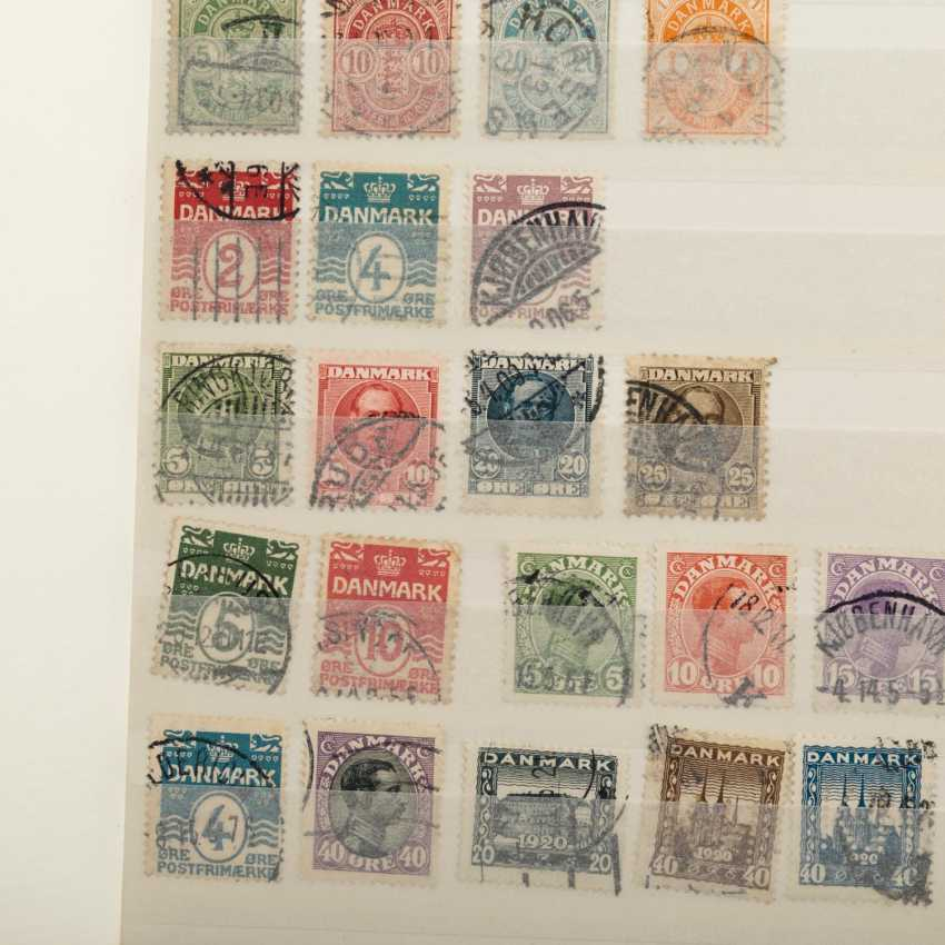 Denmark - a Small, but good doublette items, mostly stamped - photo 2
