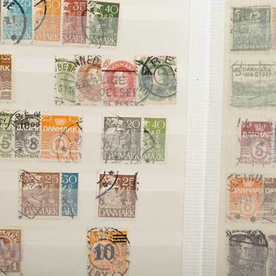 Denmark - a Small, but good doublette items, mostly stamped - photo 3