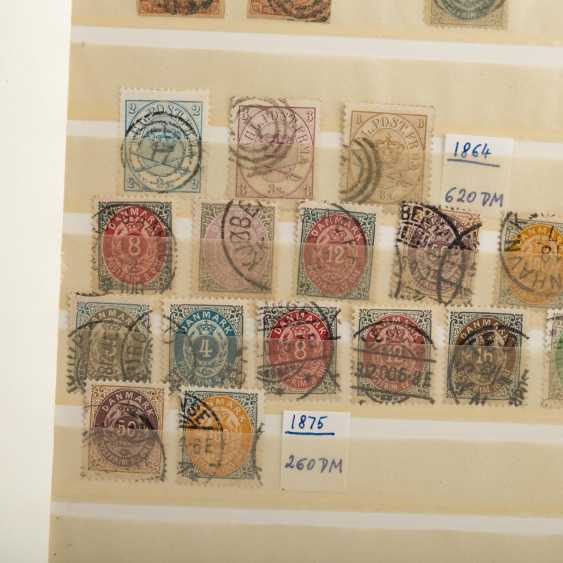 Denmark - a Small, but good doublette items, mostly stamped - photo 5
