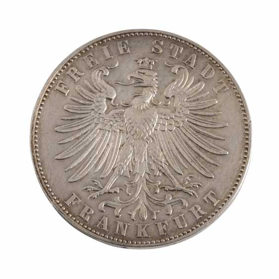 Free City Of Frankfurt - 1 Thaler 1862, At A Festival, - photo 2