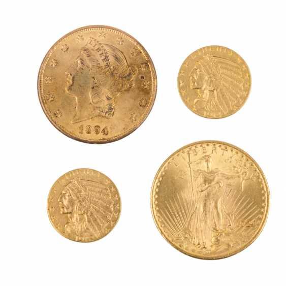 USA/GOLD - Lot mit 20 Dollars 1924 St. Gaudens, - Foto 1