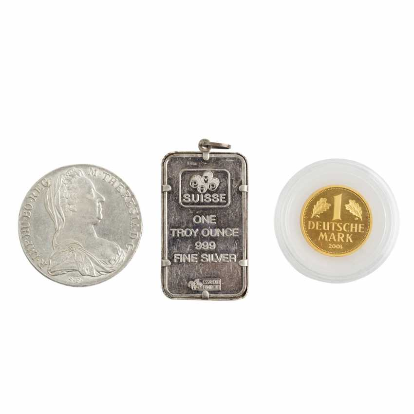 Unkonventionelles Minikonvolut mit 1 x BRD in GOLD - - photo 1