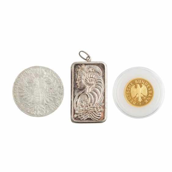 Unkonventionelles Minikonvolut mit 1 x BRD in GOLD - - photo 2