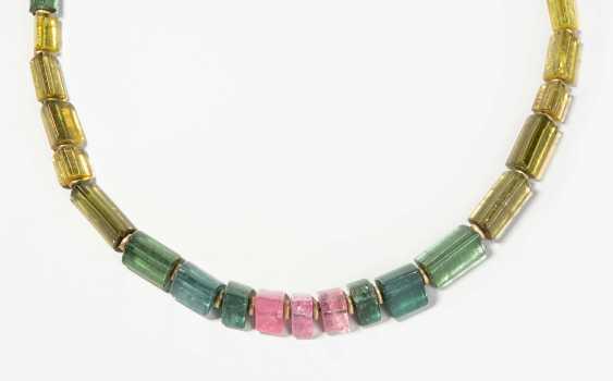 Philippe Pfeiffer, Tourmaline Gold Necklace - photo 1