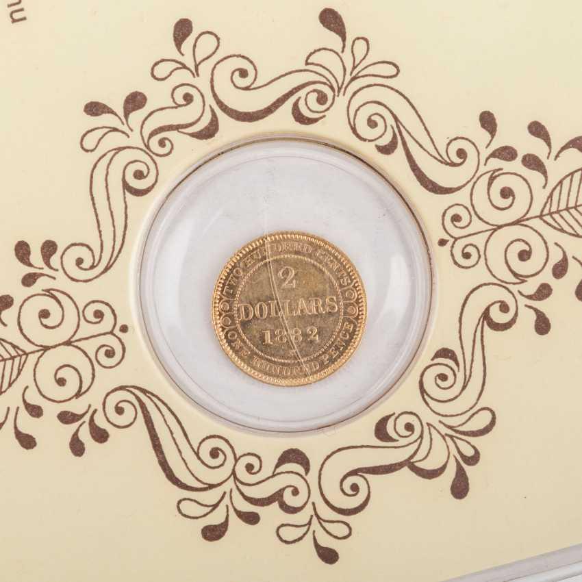 Neufundland (Canada) - $ 2, 1882/H, - photo 3