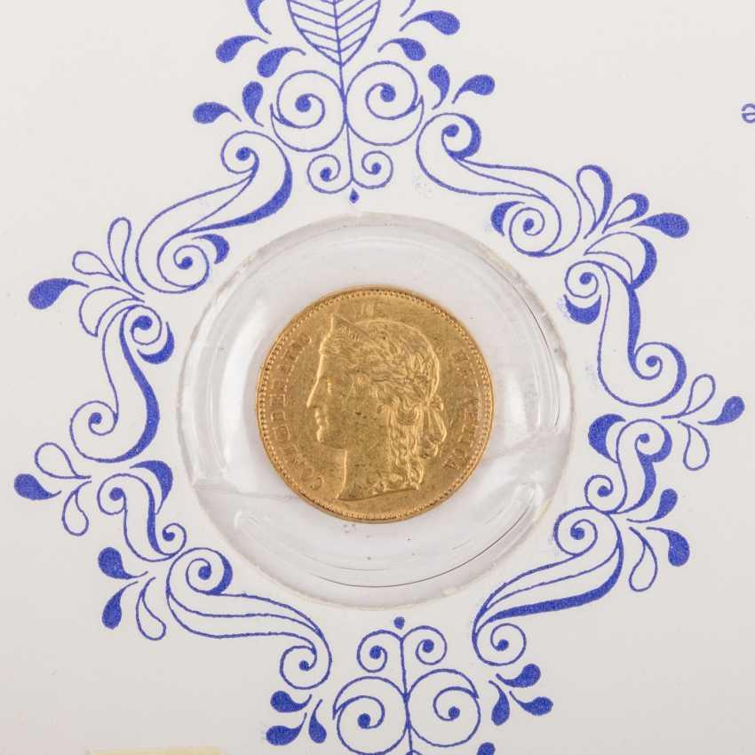 Switzerland - 20 Francs 1890, - photo 2