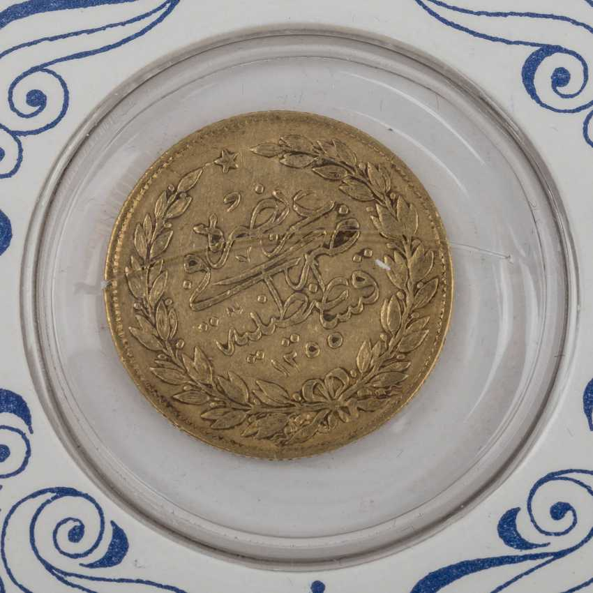 Turkey 100 piastres from 1843/61, Abdul Medschid, - photo 3
