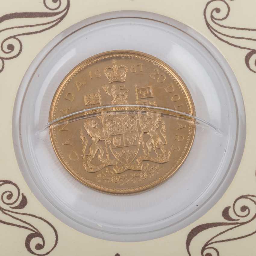 Kanada - 20 Dollars 1967, - photo 3