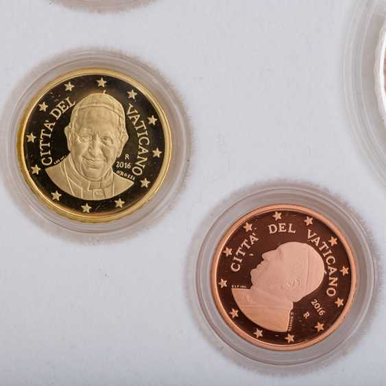 Vatican - KMS in 2016, with a 20-Euro coin, only 8.500 edition, - photo 5