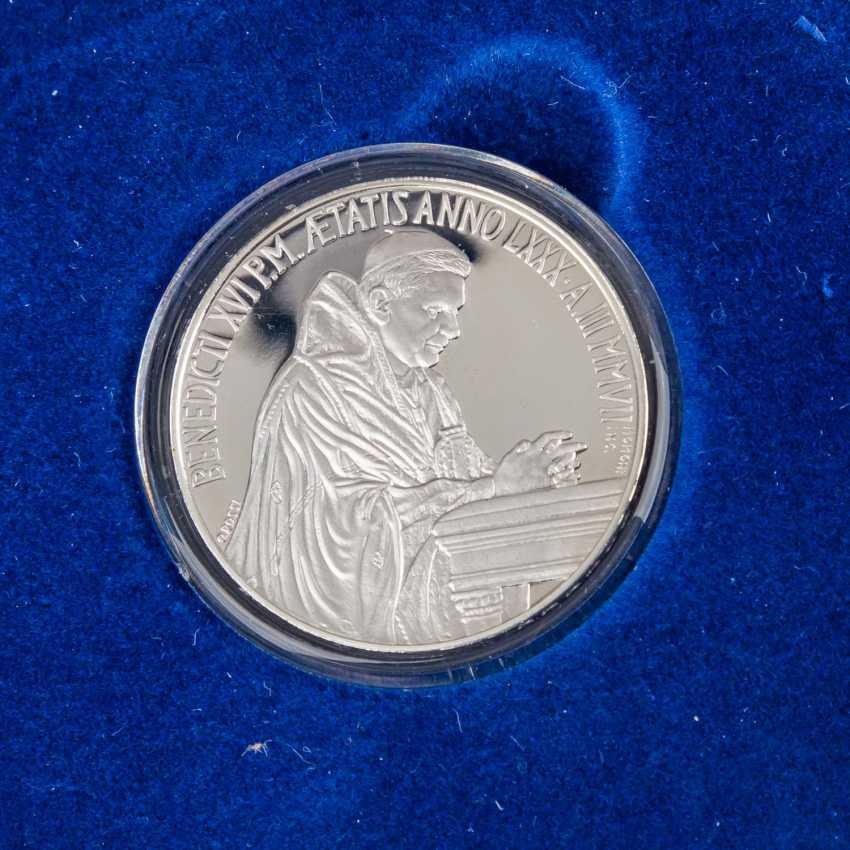 Vatikan - 2007, 5 + 10 Euro, - Foto 2