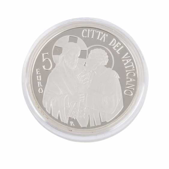 Vatican 2013, 5 Euro, Pope Francis, - photo 3