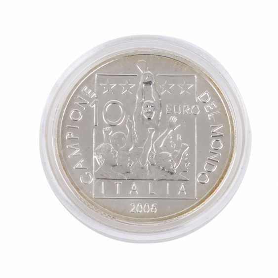 Italien - 10 Euro 2006, Fussball WM, - photo 3