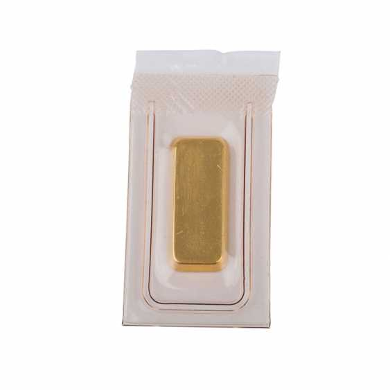 GOLDBARREN 10 g, DEGUSSA, - photo 2