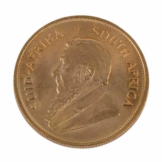 South Africa GOLD 1 oz Krugerrand 1982, - photo 1