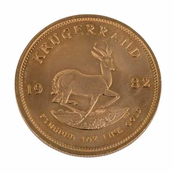 South Africa GOLD 1 oz Krugerrand 1982, - photo 2