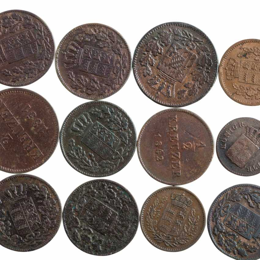 Historical small coins, with a focus Württemberg - - photo 2