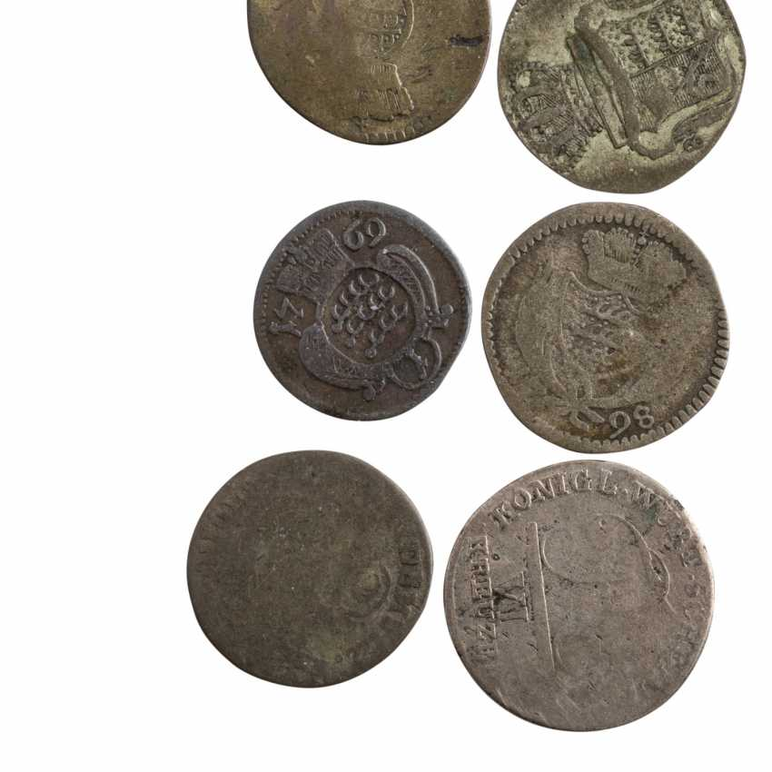 Historical small coins, with a focus Württemberg - - photo 5