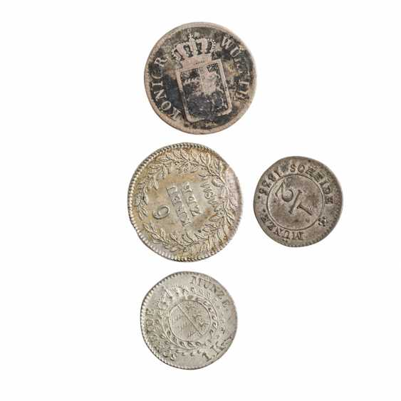 Historical small coins, with a focus Württemberg - - photo 6