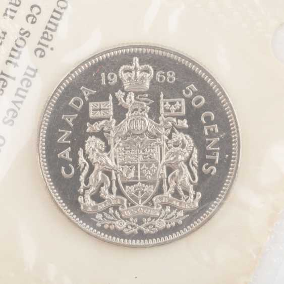Silver mixed lot, among other things, Canada 3 x 10 Dollars 1976 Montreal, - photo 4