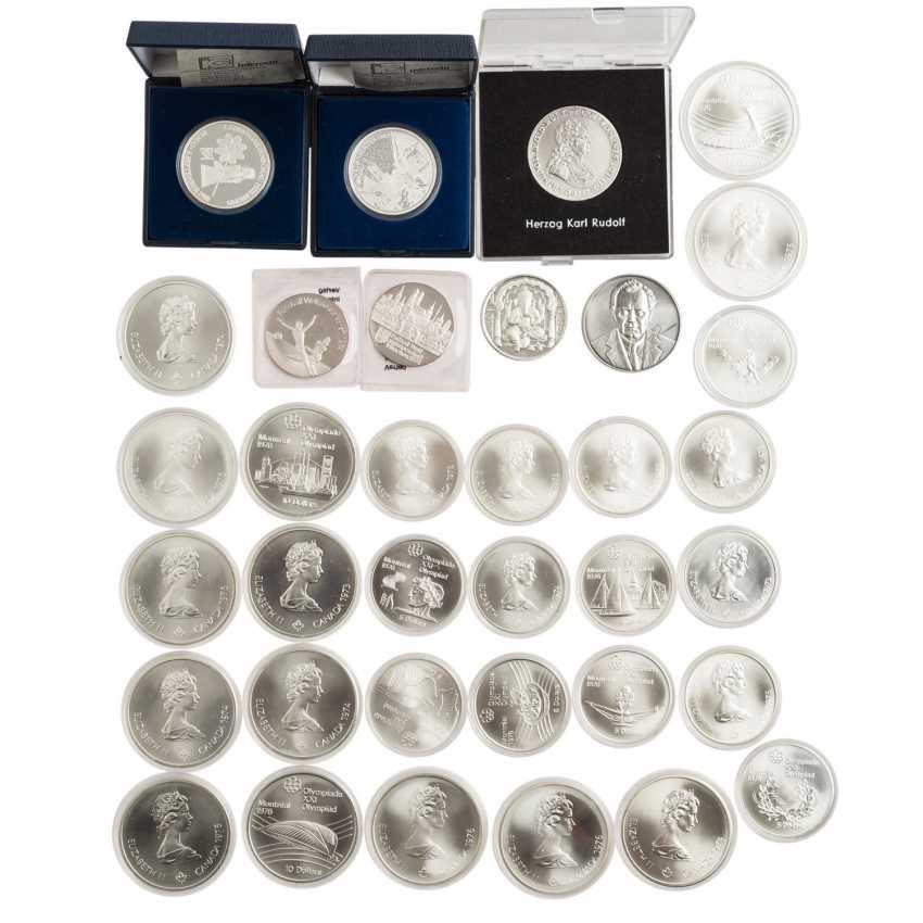 "Canada-SILVER-commemorative medals-Set ""Montreal 1976"" - - photo 1"