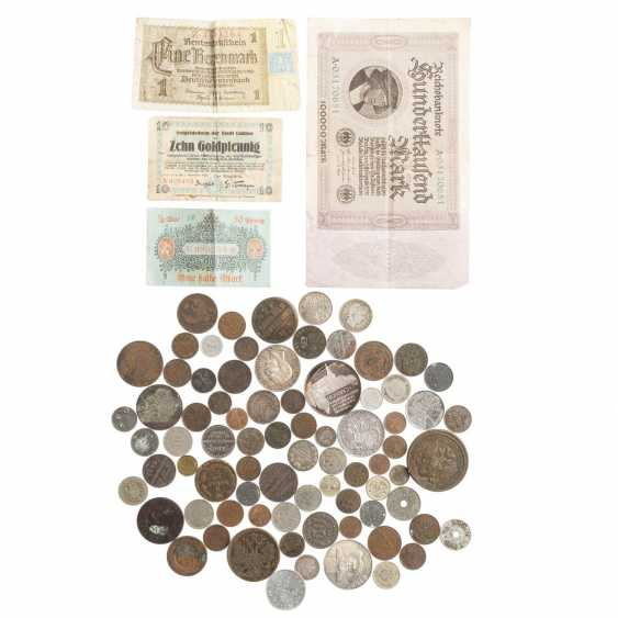 Interesting collection of coins, medals and banknotes - photo 1